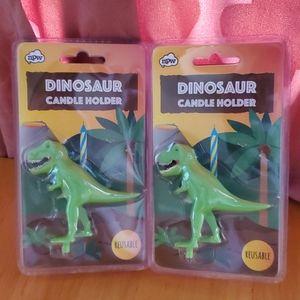 Other - Dinosaur Candle Holder🦖